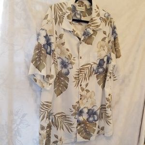 Hawaiian Shirt Caribbean 2X Tall